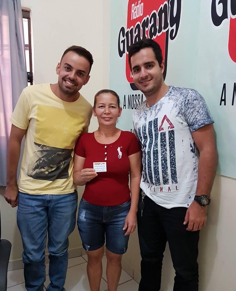 Dudu Carias, Ganhadora e Netinho Macedo