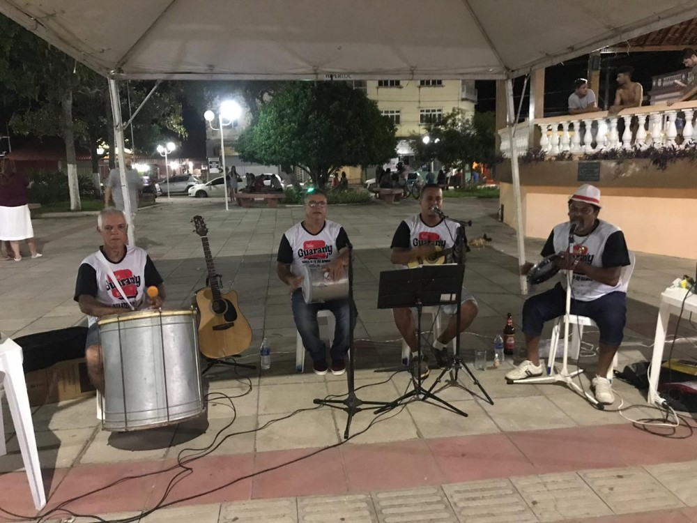 Grupo Quarteto do Samba patrocinado pela Guarany FM!